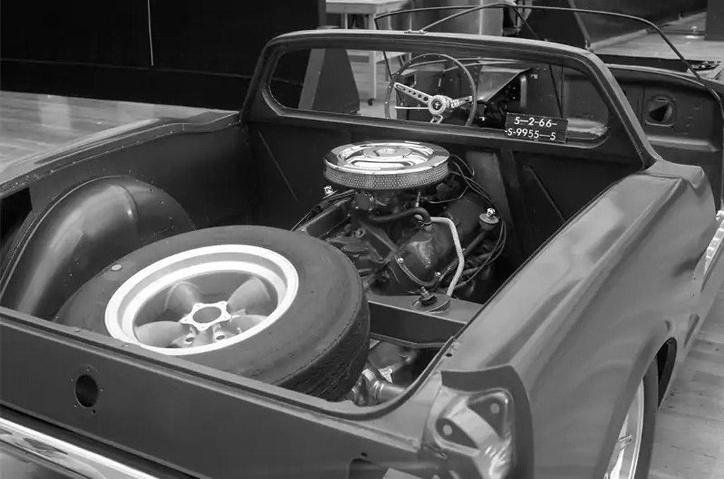 Der vergessene Mittelmotor Mustang