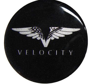 Emblem für Nabenkappe - Velocity 60 mm