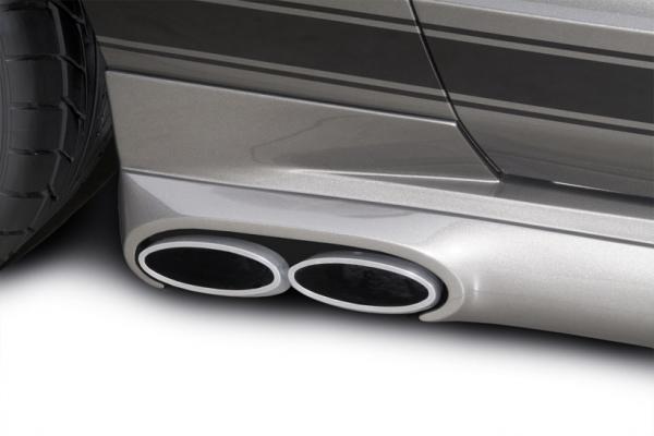 05-09 Ford Mustang GT Cabrio - (4.6) Abgasanlage - Cervinis - Side Pipe - Cabrio