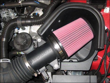 10-14 GT Roush Offener Luftfilter