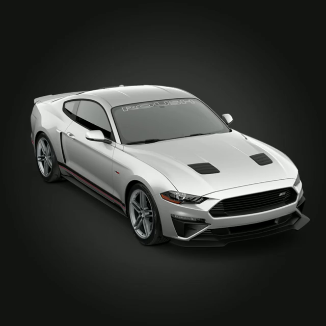 Der 2018 Mustang wurde als ROUSH Perfomance Stage 2 ...