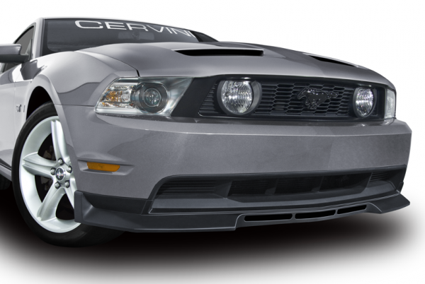 10-12 Ford Mustang (3.7-5.0) Spoiler - Cervinis - Type 4 - Schwarz Strukturiert