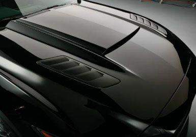 15-17 Ford Mustang GT  ROUSH Kiemen seitlich auf Motorhaube