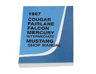 1967 Ford Mustang Reparaturhandbuch - Shop Manual