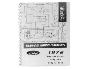 1964 Ford Mustang Technisches Handbuch - Schaltplan groß