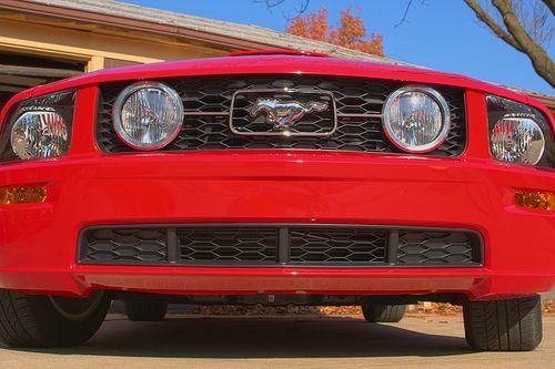 05-09 Ford Mustang GT Einsatz Kühlergrill - Unten - Mittig links und rechts