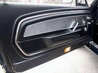 1967 Ford Mustang Set Türverkleidung - Deluxe, Schwarz
