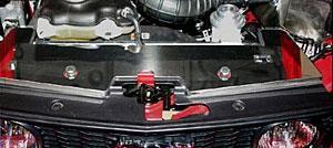 05-09 V6/GT Steeda obere Kühlerabdeckung - poliert