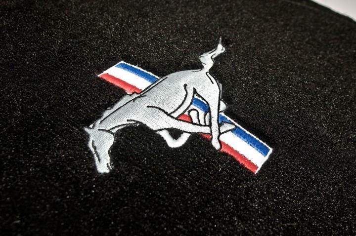 VLCTY Fußmatten Mustang