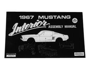 1967 Ford Mustang Reparaturhandbuch - Innenraum