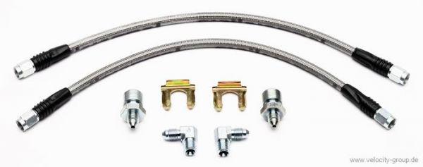 65-67 Wilwood Stahlflexleitungen für Bremsanlage