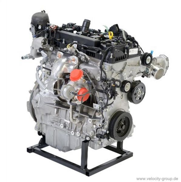 engine complete assembly 2 3 l ecoboost incl wiring harness and rh velocity group de