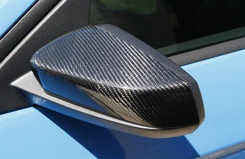 10-14 Ford Mustang Kappe für Außenspiegel - Carbon
