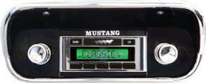 67-73 Ford Mustang Radio - Custom Autosound - USA-630