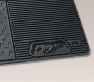 10-14 Ford Mustang Fußmatten Set - Vorne und hinten - Schwarz
