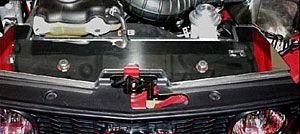 07-09 GT500 Steeda obere Kühlerabdeckung - poliert