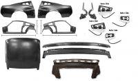 1967 Ford Mustang Coupe Reparatursatz Rahmen - Umbausatz auf Fastback