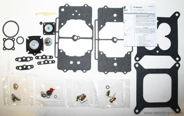 58-69 Ford/Mercury/Edsel Vergaserüberholsatz - für Autolite 4100