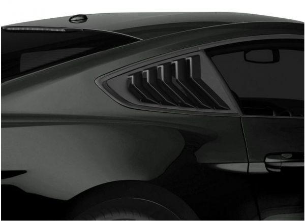 15-21 Ford Mustang Coupe Aufsatz für Scheibe - Schwarz Matt