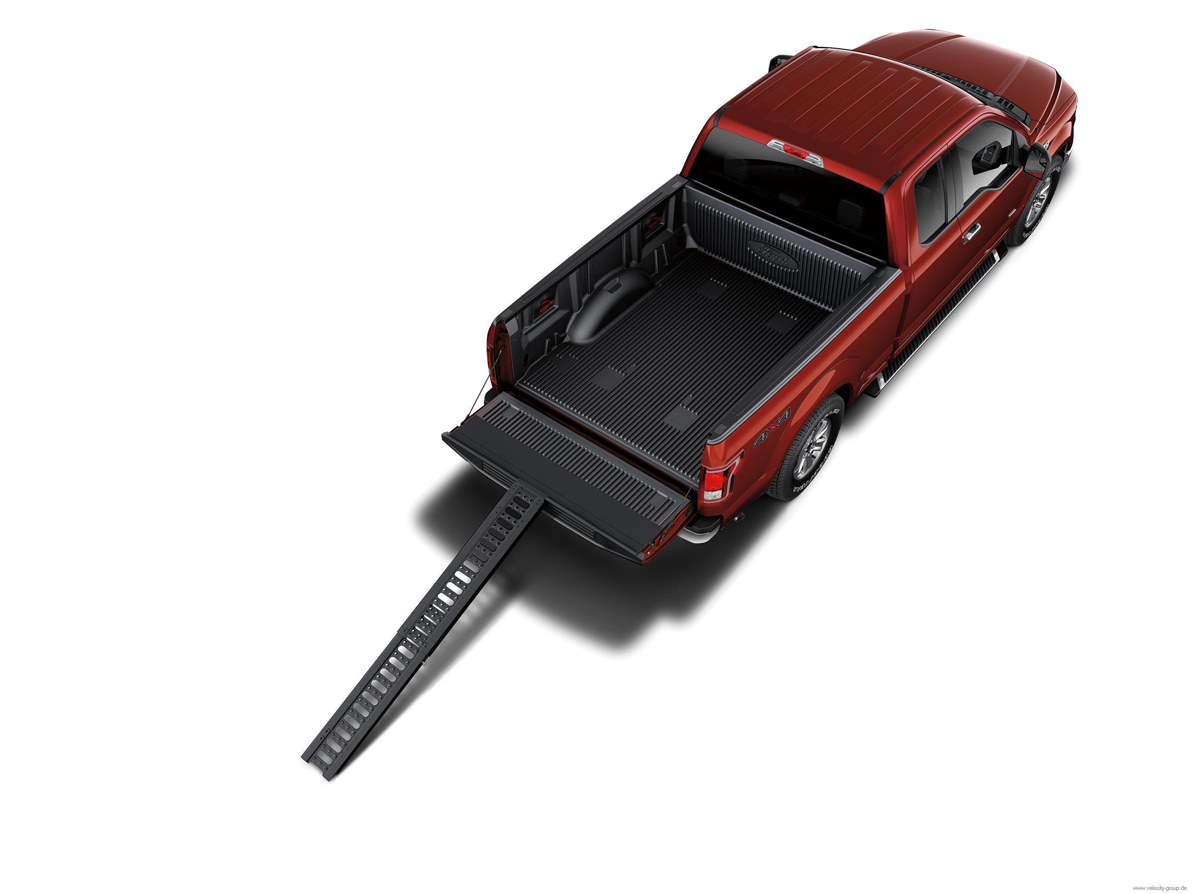 15-17 Ford F-150 Rampe für Ladefläche