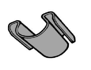 64-68 Klammer für Heizungskasten