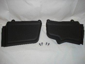 05-09 Abdeckungen für Batterie und Hauptbremszylinder - schwarz