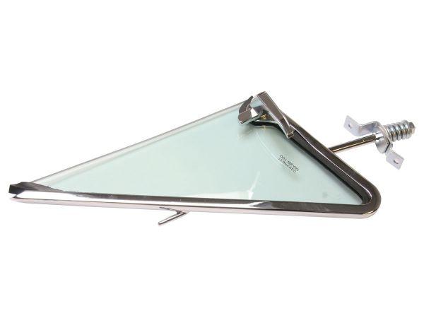 1967 Ford Mustang Glas Dreiecksfenster - Rechts - Hellgrün inkl. Rahmen