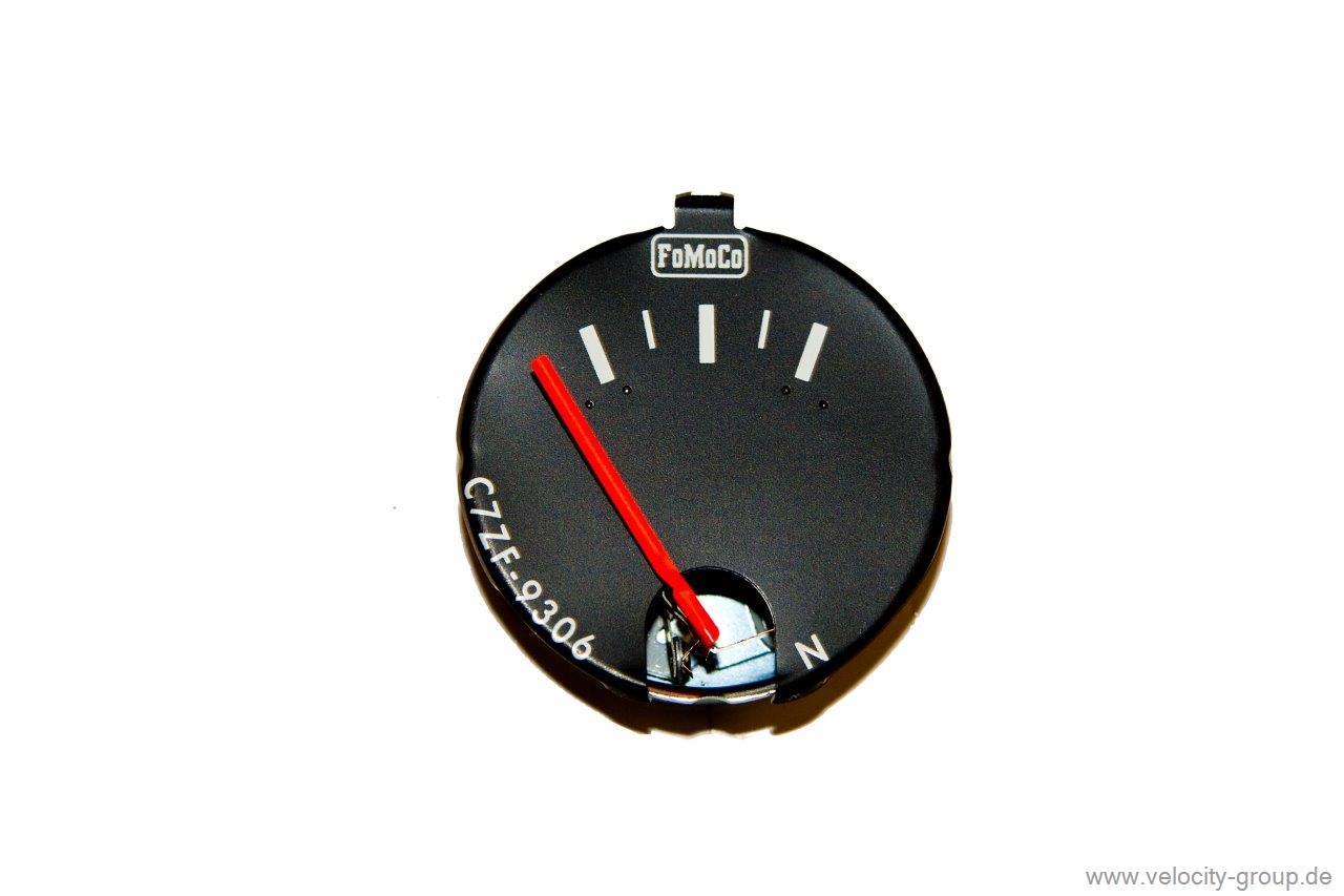 1968 Ford Mustang Fuel Level Gauge C7zf 9306 Clock Wiring