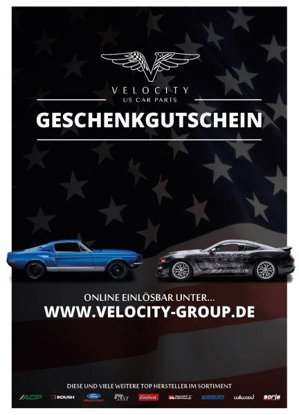Geschenkgutschein - Velocity - 100 Euro