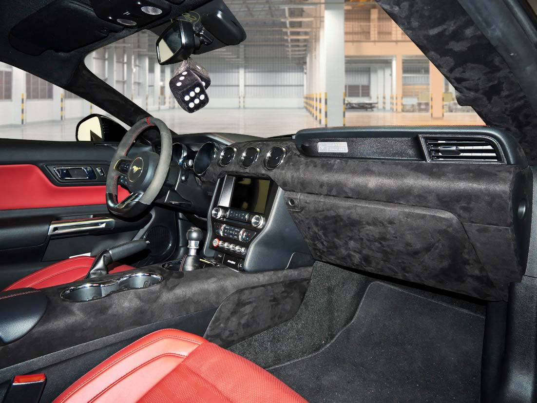 VLCTY Innenraum Mustang