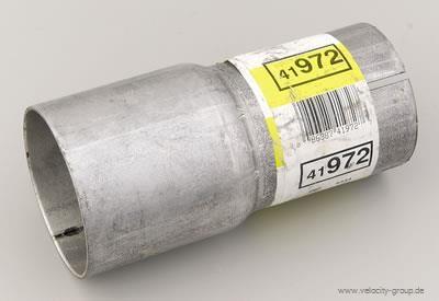 Reduzierstück für Stahl Auspuffrohr (2,5 Zoll innen - 2 Zoll außen)