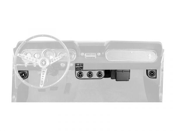 65-66 Ford Mustang (289) Klimaanlagennachrüstung - Ohne OE Klima - Zubehör Auslässe
