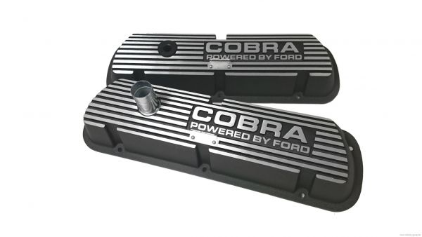 63-91 Ford/Lincoln/Mercury Ventildeckelset - ''''COBRA Powered by Ford''''
