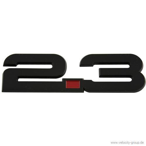 15 19 ford mustang emblem kotfl gel 2 3 schwarz. Black Bedroom Furniture Sets. Home Design Ideas