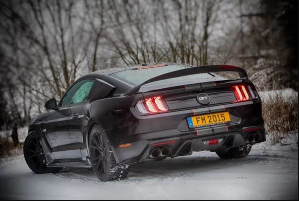 18-20 Ford Mustang Spoiler - Abbes - Big Wing - Mit TÜV