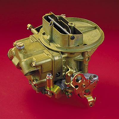 Carburetor - Holley Performance 2BBL - 350 cfm - Manual choke - Natural