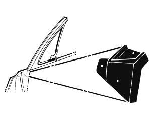 67-68 Dichtungen für Dreiecksfenster