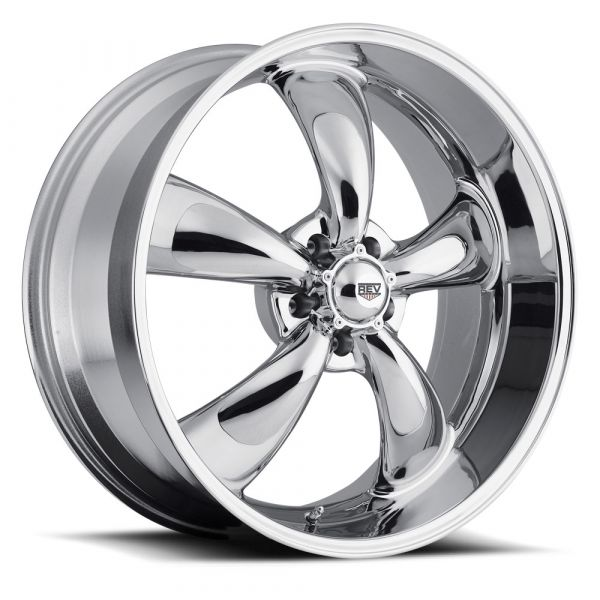 64-73 Ford Mustang  Classic Wheel 15x8 Aluminium verchromt