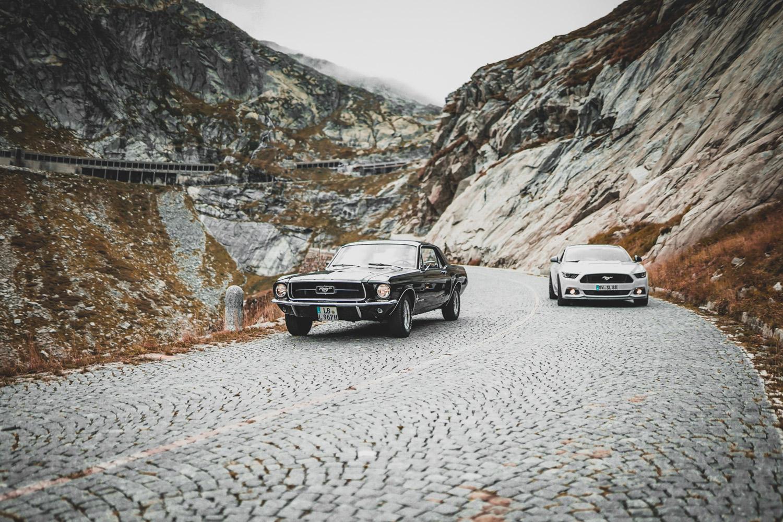 Luca's Mustang
