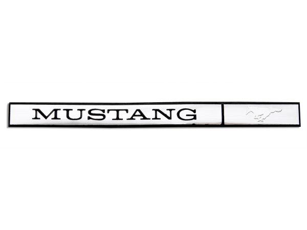 71-73 Emblem für Armaturenbrett - Mustang Schriftzug