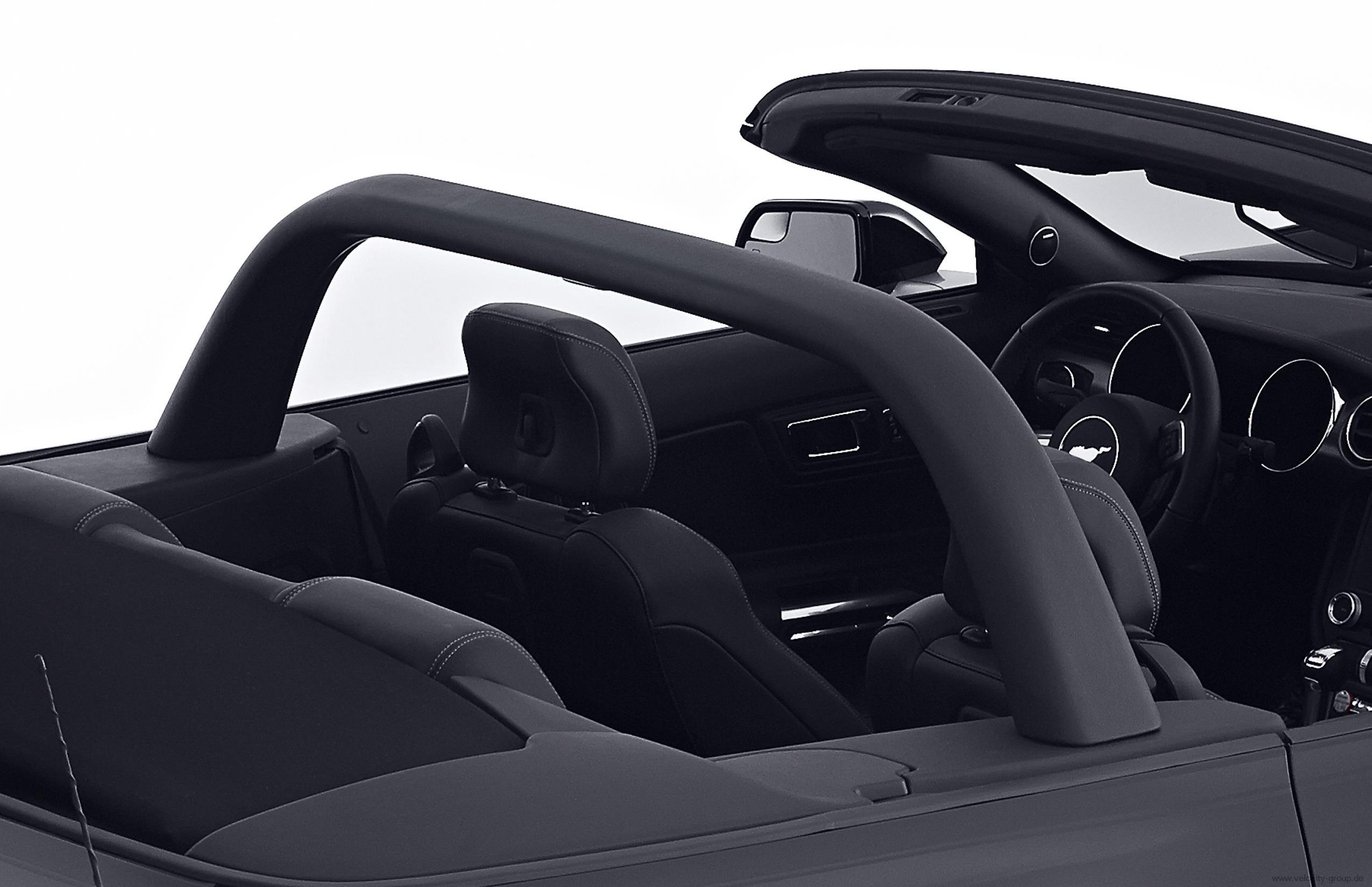 15 19 ford mustang cabrio berrollb gel schwarz ohne. Black Bedroom Furniture Sets. Home Design Ideas