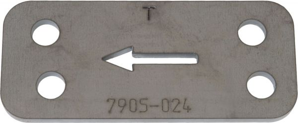 64-66 Bohrschablone für Shelby Drop - 25 mm Tieferlegung