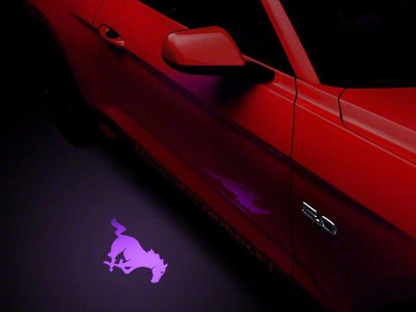 13-19 Ford Mustang Umfeldbeleuchtung - Linsenfolie lila