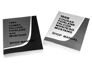 1966 Ford Mustang Reparaturhandbuch - Shop Manual