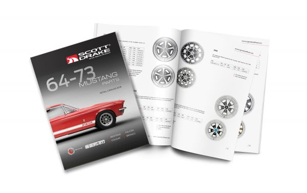 64-73 Ford Mustang Katalog - Scott Drake Teilekatalog 64-73