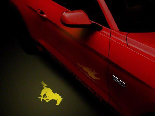 13-19 Ford Mustang Umfeldbeleuchtung - Linsenfolie gelb
