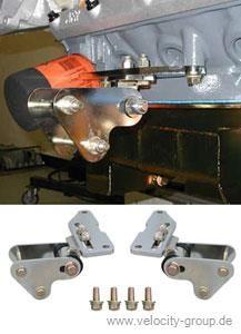 65-70 289/302/351W einstellbare Motorlager - 0,5 Zoll tiefer