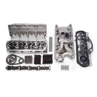 Top End Engine Kit, Power Package, Intake, Cylinder Heads, Cam, Timing  Chain, Head Bolts, Ford, 351W