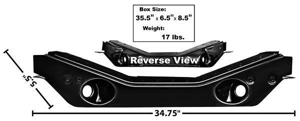 71 73 ford mustang rahmenquertr ger vorne. Black Bedroom Furniture Sets. Home Design Ideas