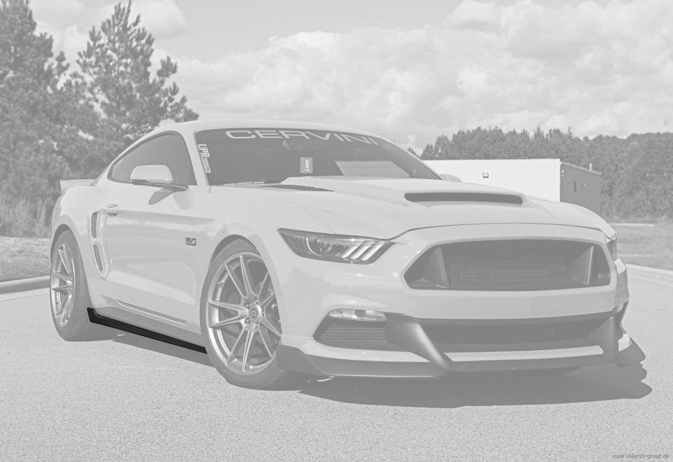 15-20 Ford Mustang Seitenschweller - Cervinis - Stalker Design